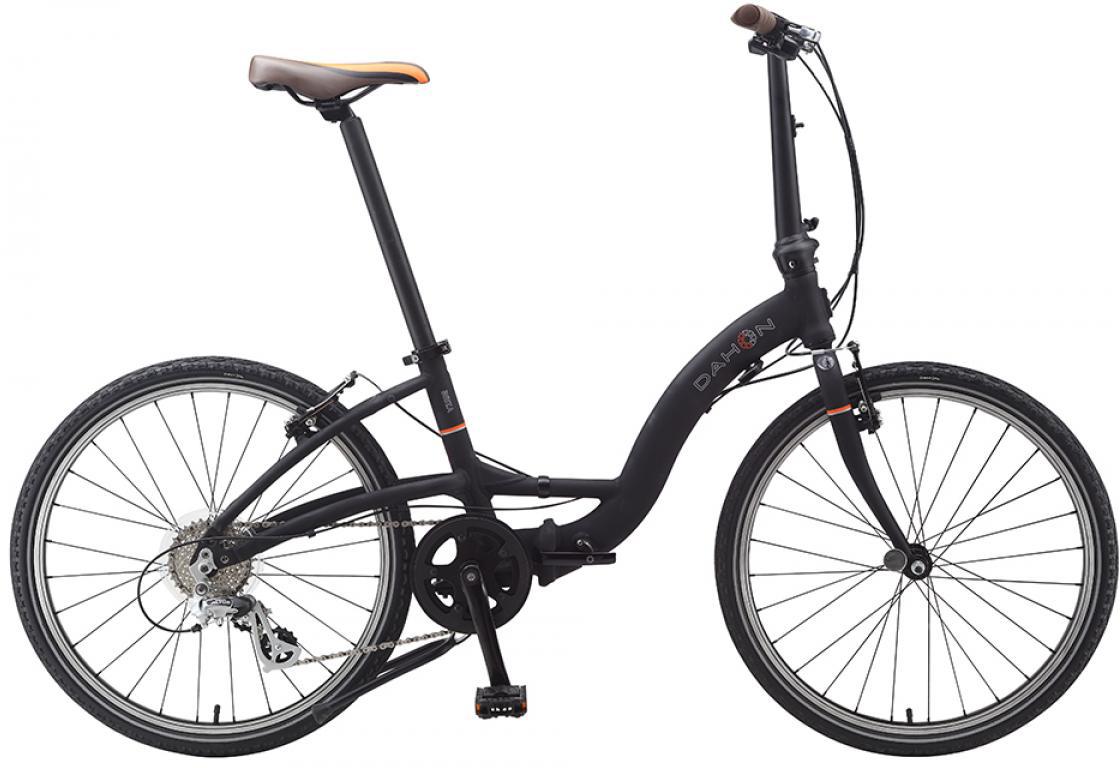 Велосипед складной Dahon Briza D8 2015, цвет: черный, колесо 24