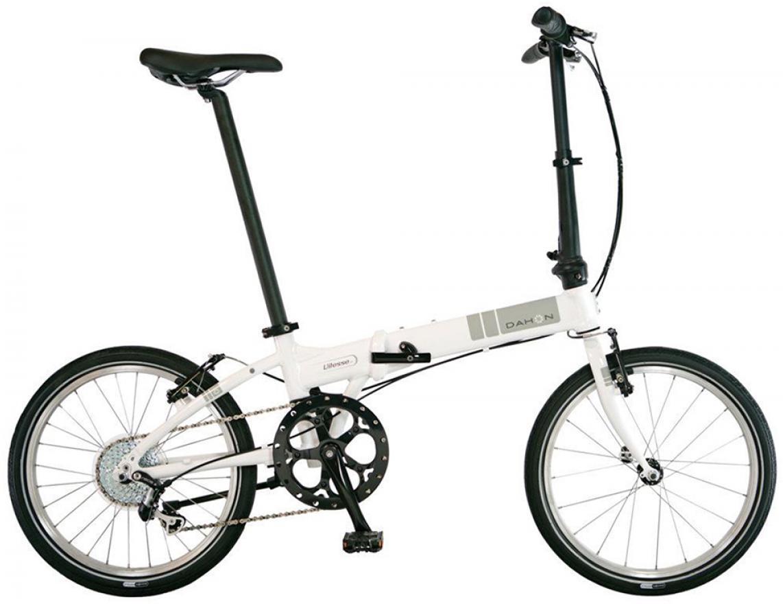 Велосипед складной Dahon Vitesse D8 2014, цвет: белый, колесо 20