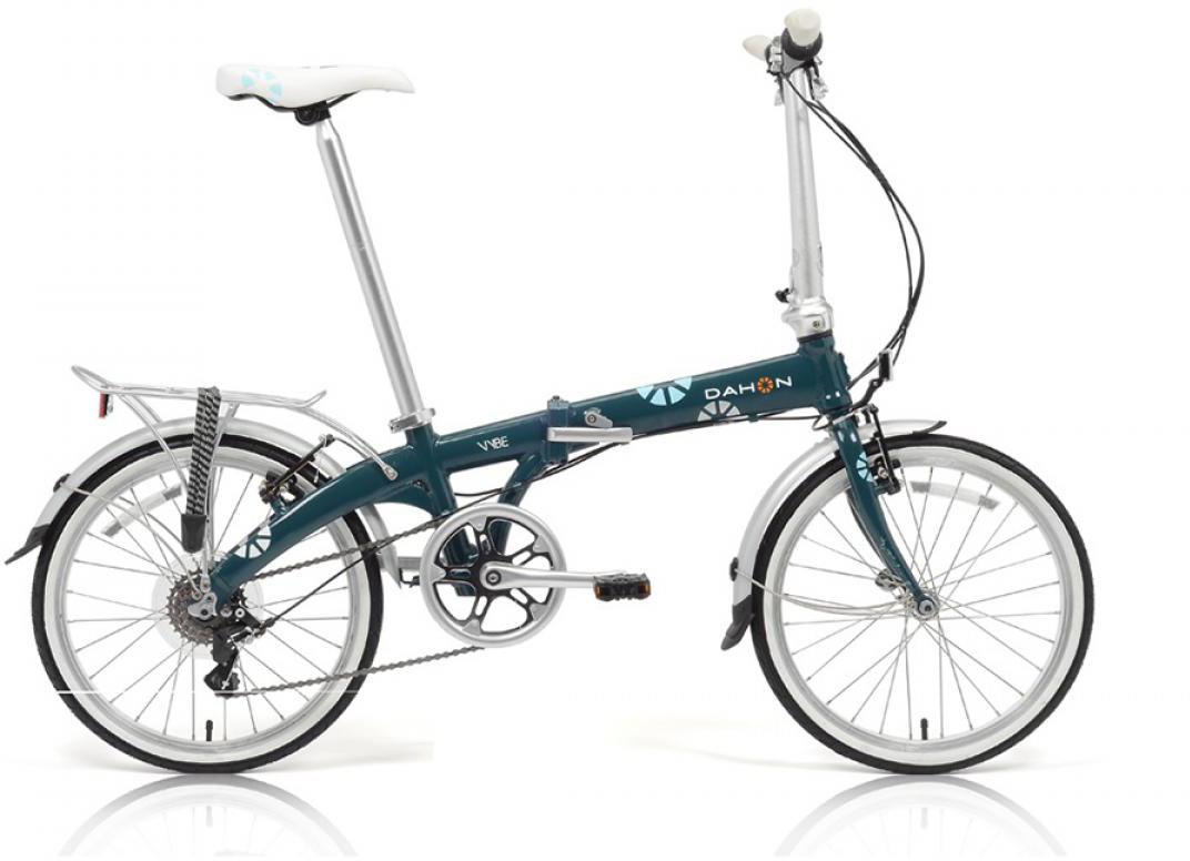 Велосипед складной Dahon Vybe C7A 2014, цвет: синий, колесо 20229262