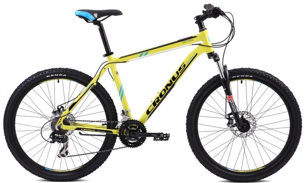 Велосипед горный Cronus Coupe 1.0 2015, цвет: желтый, рама 21, колесо 26251743
