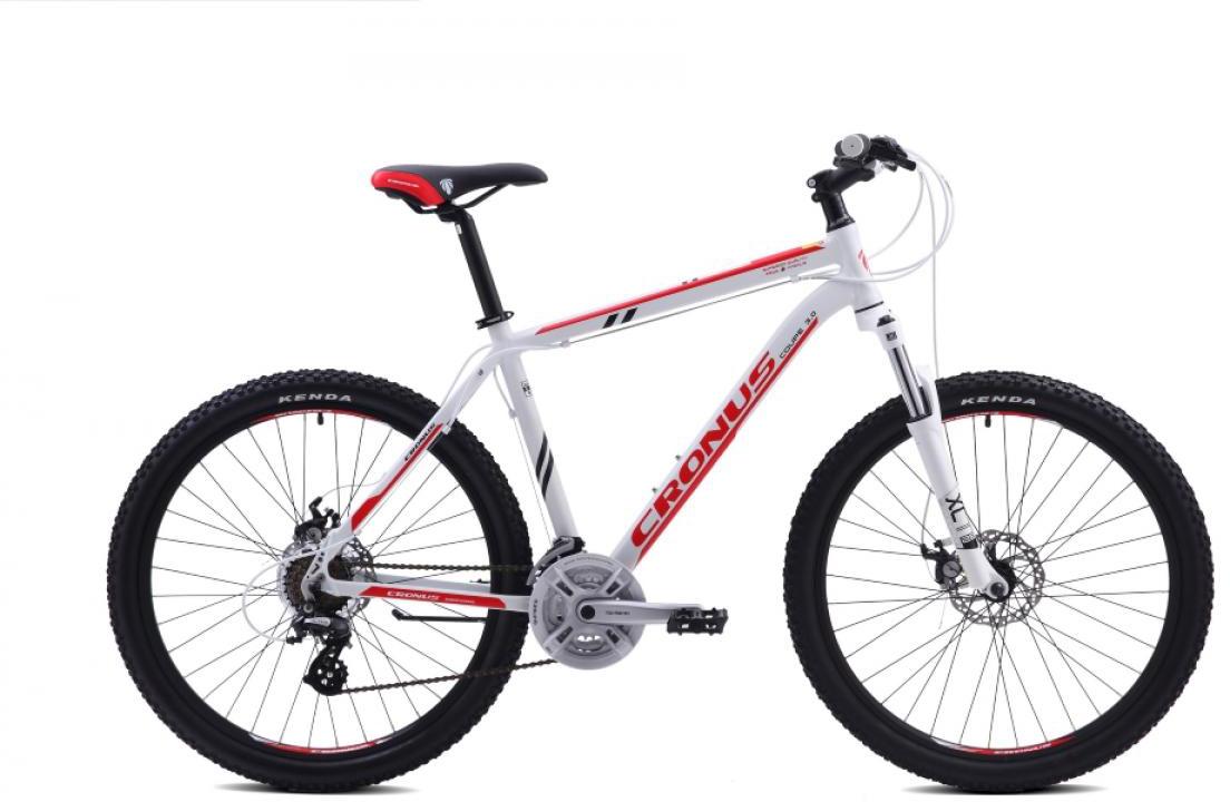 Велосипед горный Cronus Coupe 3.0 2015, цвет: белый, рама 17,5, колесо 26251754