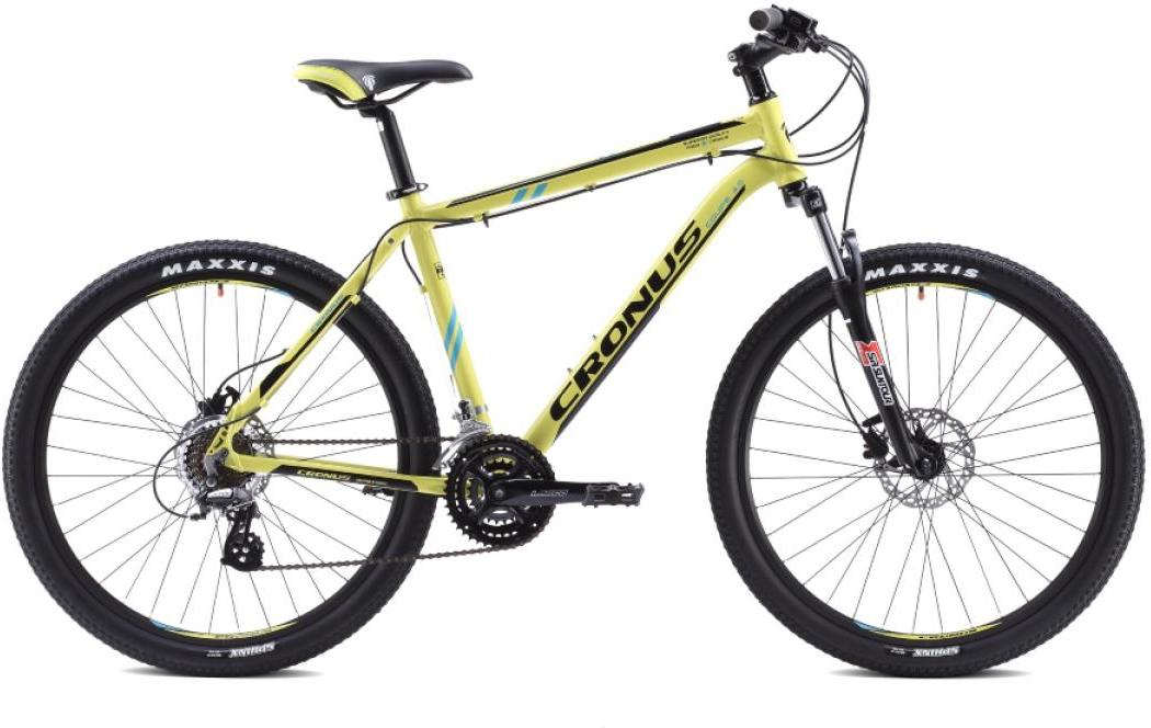Велосипед горный Cronus Coupe 4.0 2015, цвет: желтый, рама 17,5, колесо 26251757
