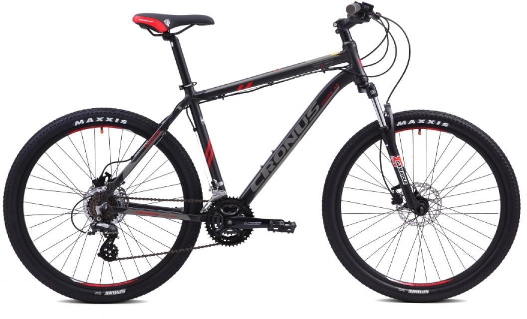 Велосипед горный Cronus Coupe 4.0 2015, цвет: черный, рама 17,5, колесо 26251760