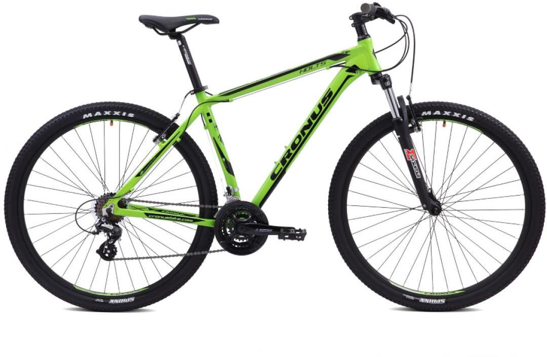 Велосипед горный Cronus Holts 0.5 29 2015, цвет: зеленый, рама 21, колесо 29251770