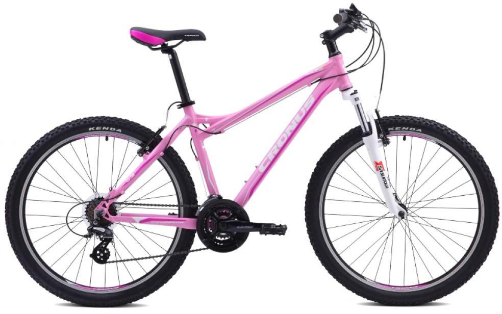 Велосипед женский Cronus EOS 0.3 2015, цвет: розовый, рама 16, колесо 26251782