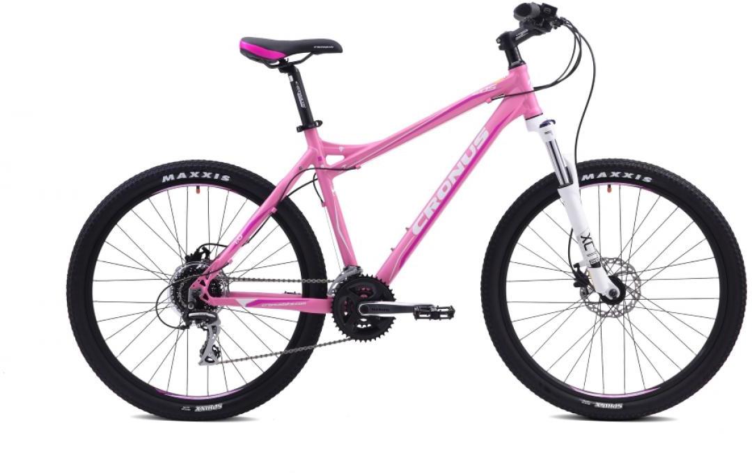 Велосипед женский Cronus EOS 1.0 2015, цвет: розовый, рама 19, колесо 26251793