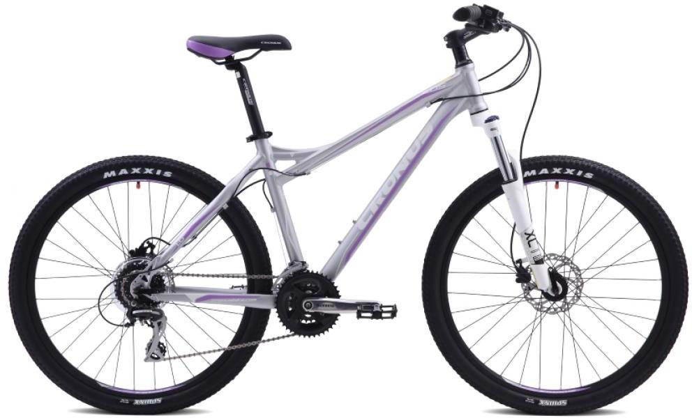 Велосипед женский Cronus EOS 1.0 2015, цвет: серый, рама 17,5, колесо 26251795