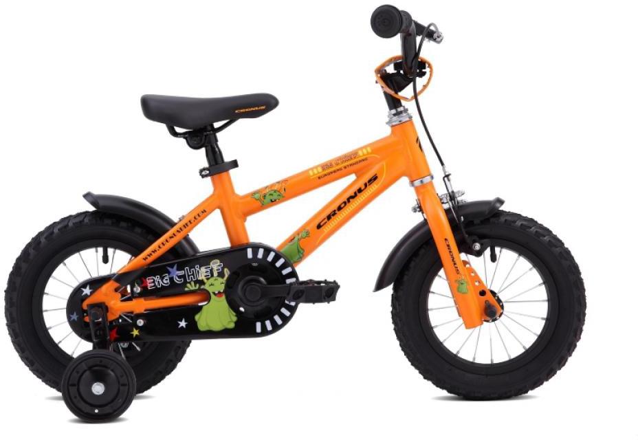 Велосипед детский Cronus Big Chief 12 2015, цвет: оранжевый, колесо 12