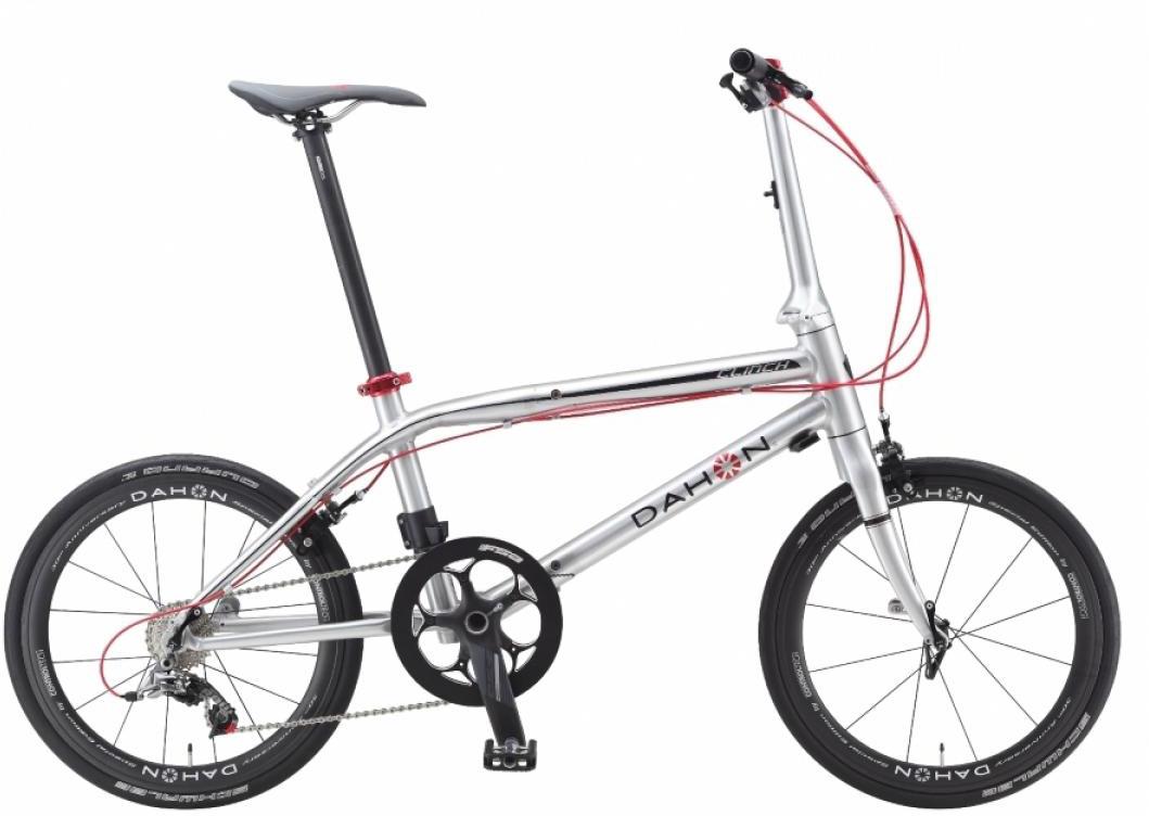 Велосипед складной Dahon Clinch 2015, цвет: серый, колесо 20251817