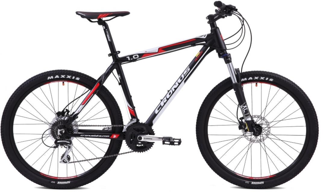 Велосипед горный Cronus Rover 1.0 2015, цвет: черный, рама 17,5, колесо 26251934