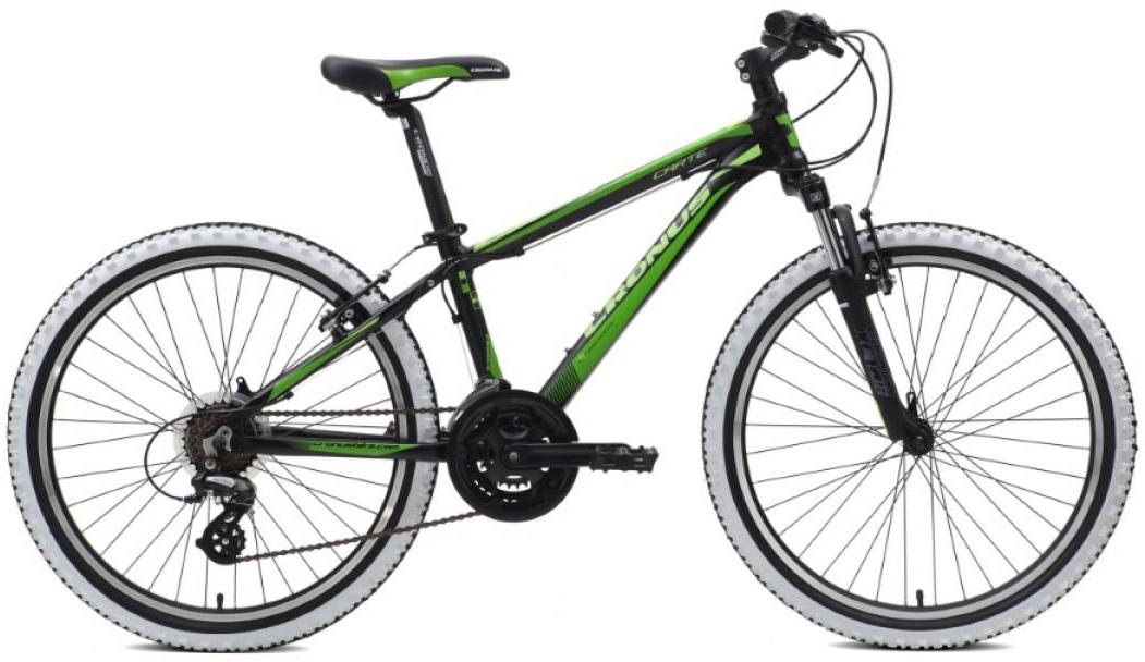 Велосипед детский Cronus Carter 2015, цвет: зеленый, колесо 24252453
