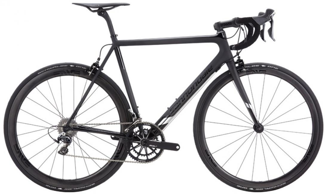 Велосипед шоссейный Cannondale SuperSix EVO Black Inc. 2016, цвет: черный, рама 19, колесо 28262413