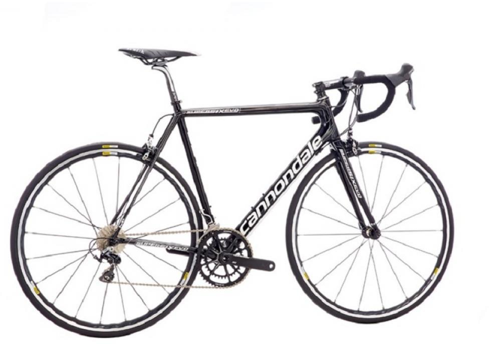 Велосипед шоссейный Cannondale SuperSix Evo Hi-Mod Dura Ace 2 2016, цвет: черный, рама 22, колесо 28262438