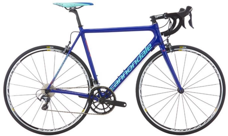 Велосипед шоссейный Cannondale SuperSix Evo Hi-Mod Ultegra 2016, цвет: синий, рама 22, колесо 28262459