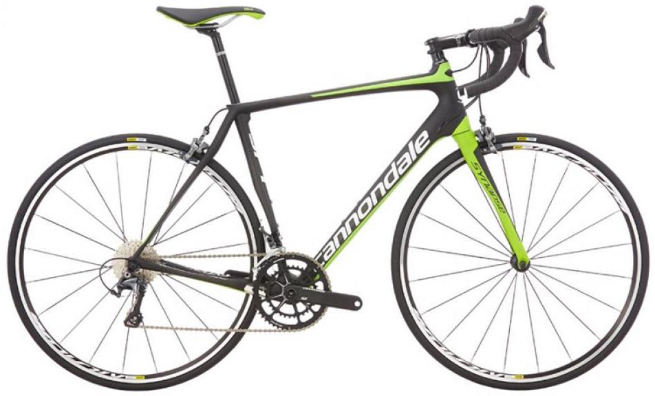 Велосипед шоссейный Cannondale Synapse Carbon Ultegra 3 2016, цвет: черный, рама 24, колесо 28262702