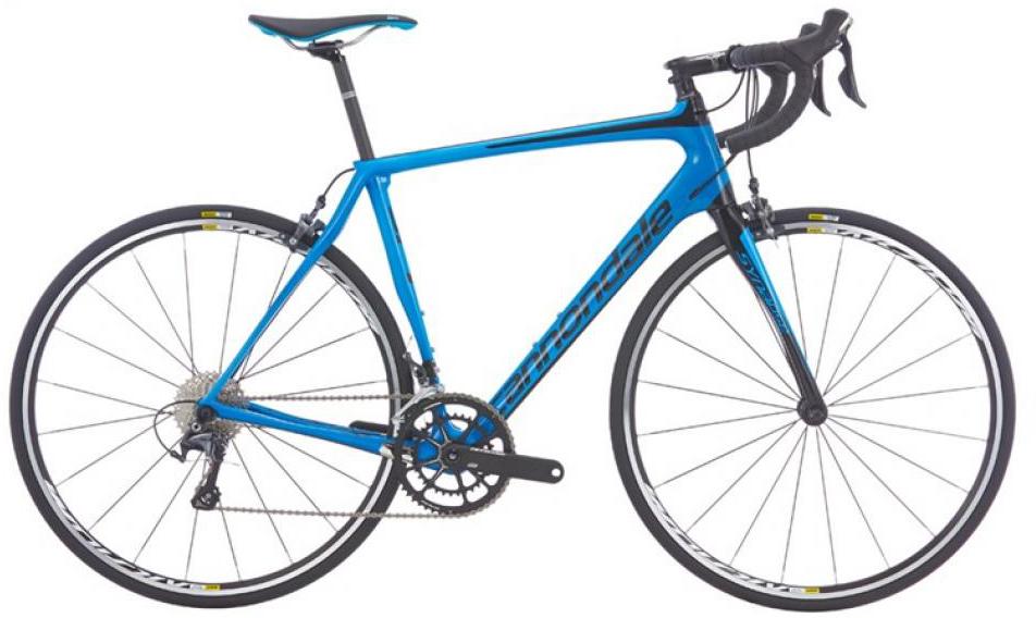 Велосипед шоссейный Cannondale Synapse Carbon Ultegra 3 2016, цвет: синий, рама 24, колесо 28262708