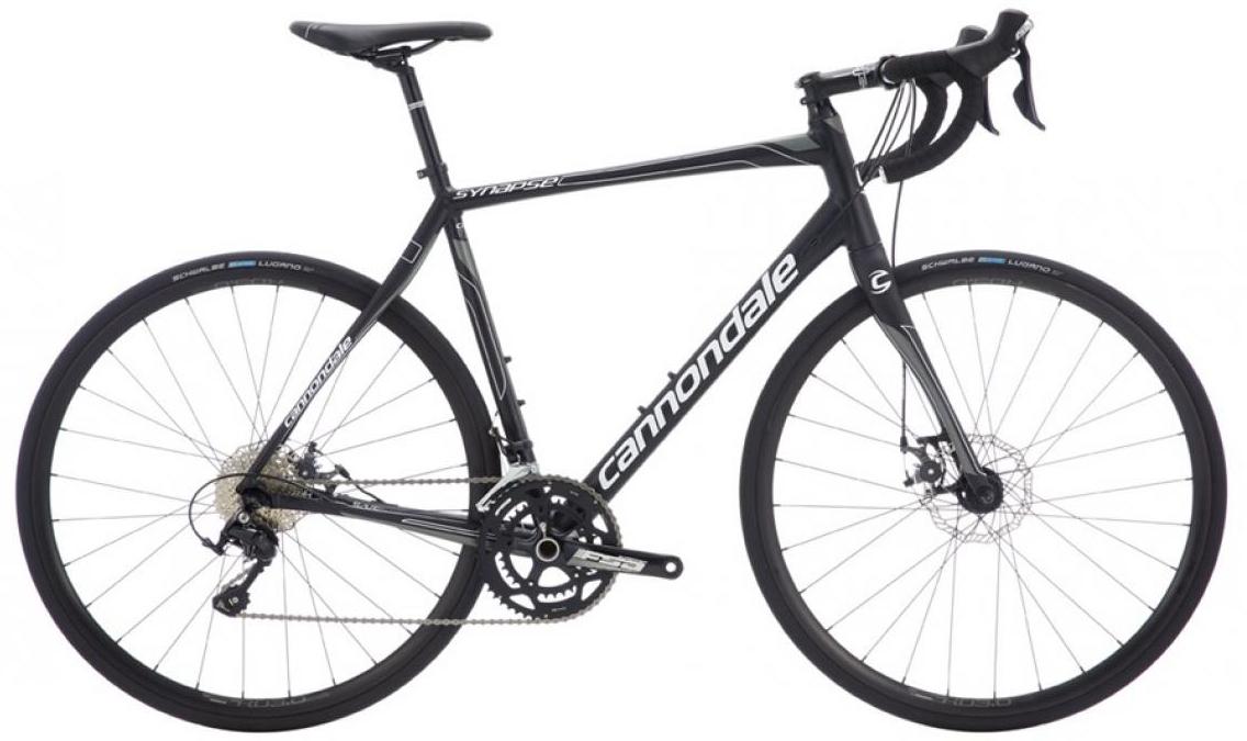 Велосипед шоссейный Cannondale Synapse Disc 105 2016, цвет: черный, рама 21,5, колесо 28262748