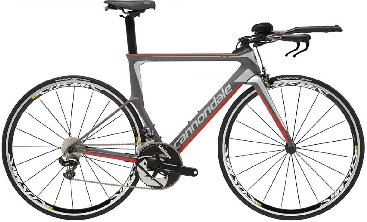 Велосипед шоссейный Cannondale Slice Hi-Mod Dura Ace Di2 2016, цвет: красный, рама 20, колесо 28262793