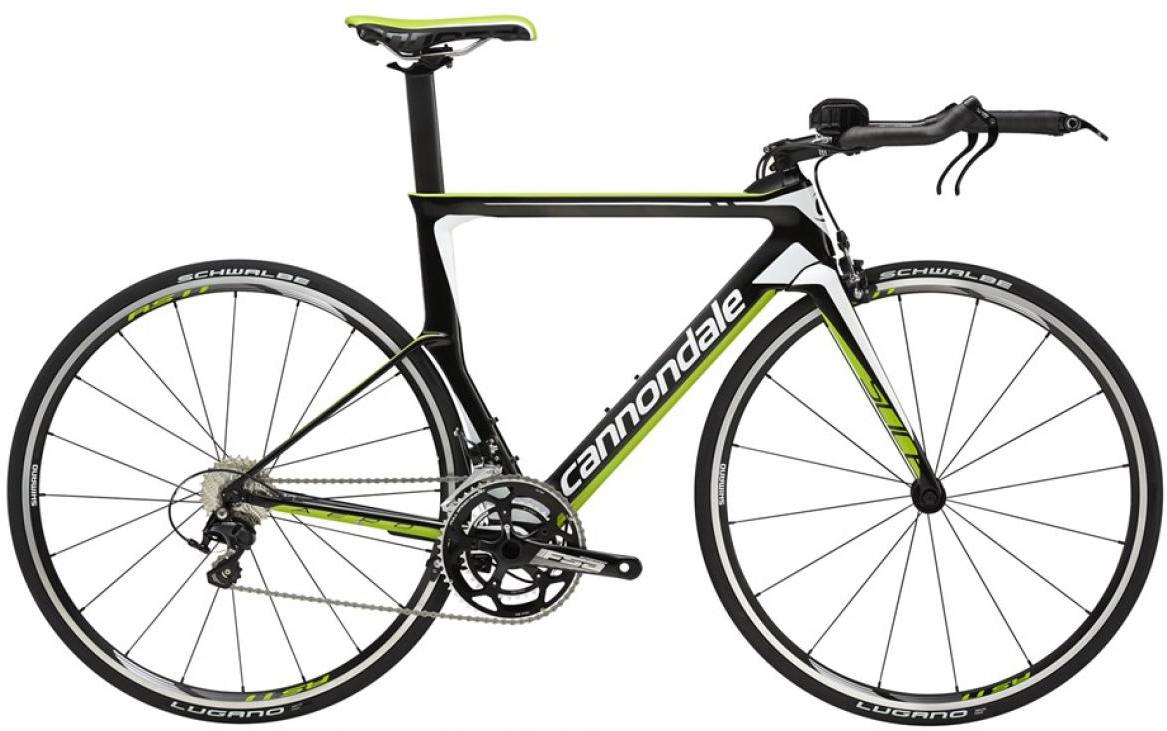Велосипед шоссейный Cannondale Slice 105 2016, цвет: черный, рама 23,5, колесо 28262811