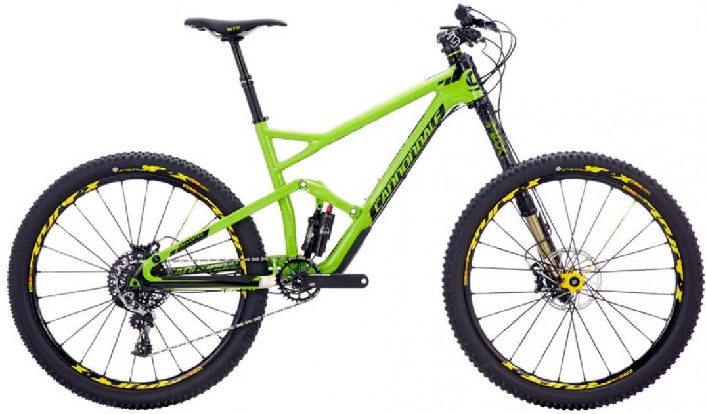Велосипед горный Cannondale Jekyll Carbon 1 2016, двухподвесный, цвет: зеленый, рама 20, колесо 27,5262917