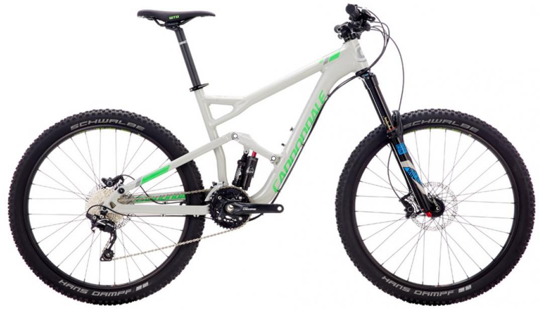 Велосипед горный Cannondale Trigger 4 2016, двухподвесный, цвет: серый, рама 22, колесо 27,5262921