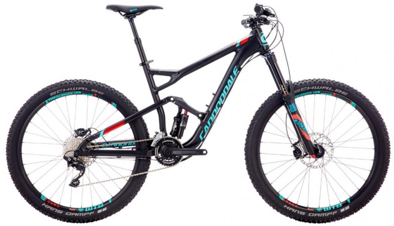 Велосипед горный Cannondale Jekyll 3 2016, двухподвесный, цвет: черный, рама 22, колесо 27,5262929