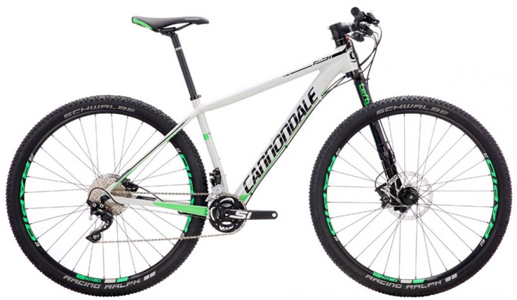 Велосипед горный Cannondale F-Si 1 2016, цвет: серый, рама 18, колесо 29262944