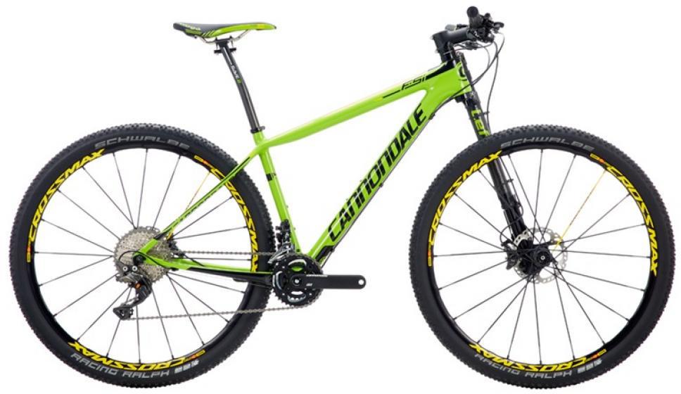 Велосипед горный Cannondale F-Si Hi-Mod 1 2016, цвет: зеленый, рама 20, колесо 29262947