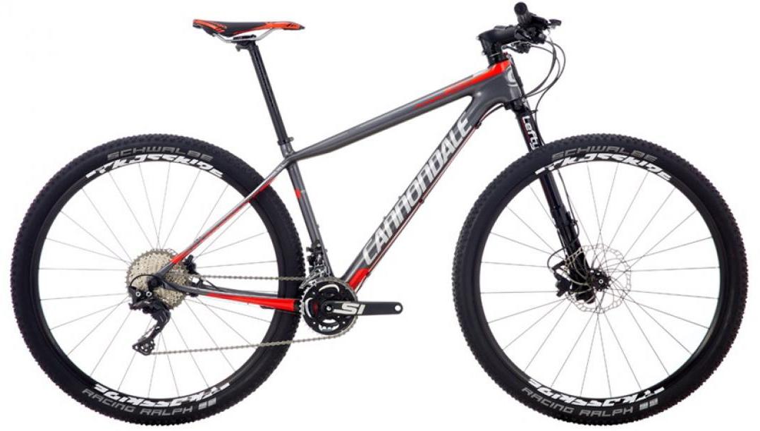 Велосипед горный Cannondale F-Si Carbon 3 2016, цвет: серый, рама 22, колесо 29262980