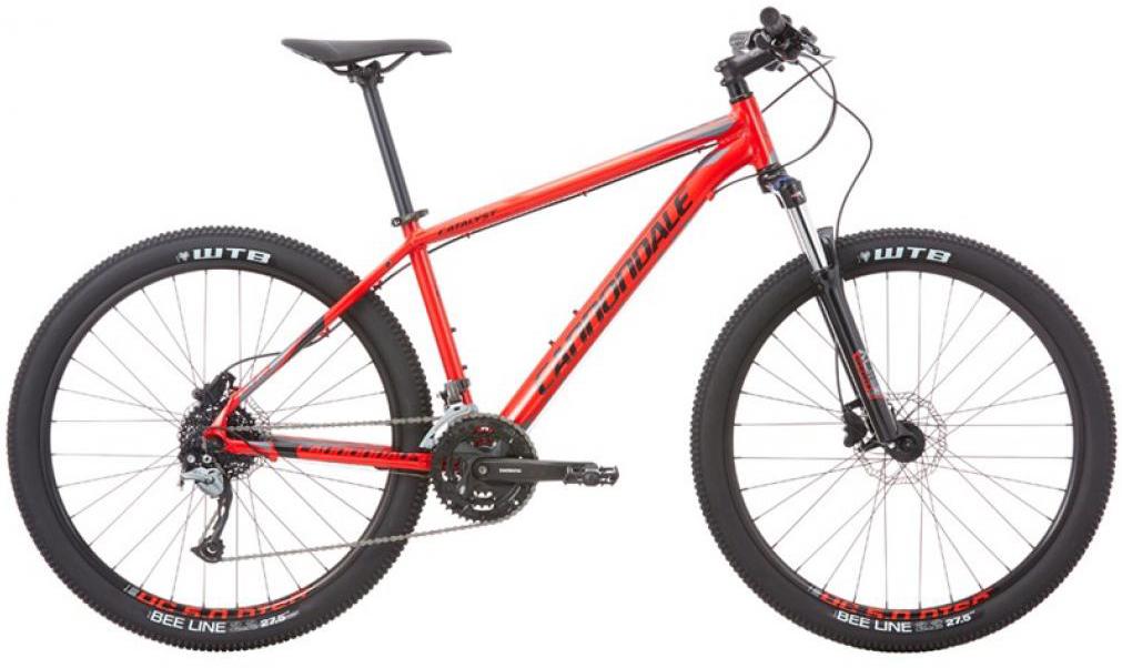 Велосипед горный Cannondale Catalyst 1 2016, цвет: красный, рама 16, колесо 27,5263061