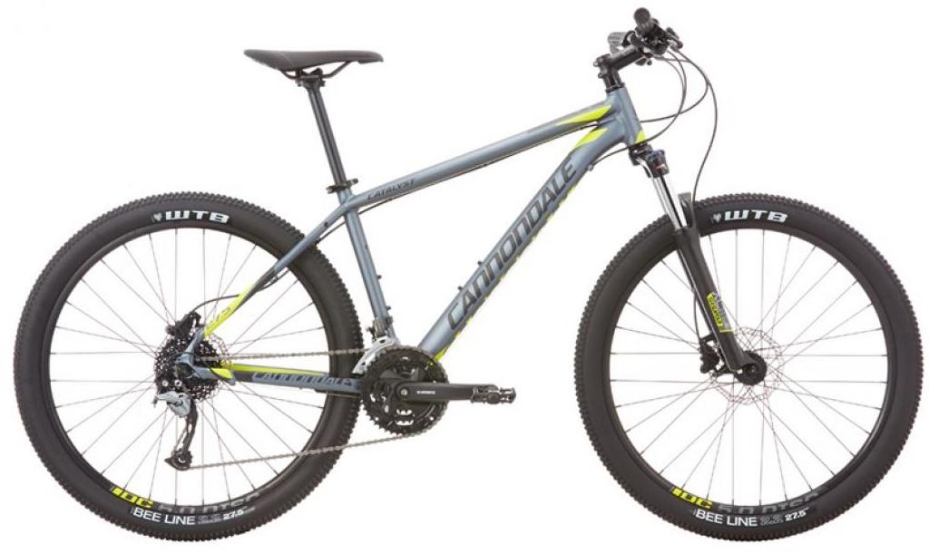 Велосипед горный Cannondale Catalyst 1 2016, цвет: серый, рама 16, колесо 27,5263066
