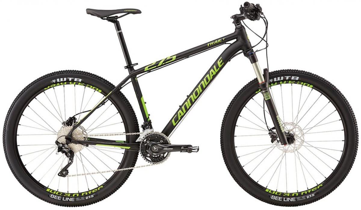 Велосипед горный Cannondale Trail 1 2016, цвет: черный, рама 24, колесо 27,5263076