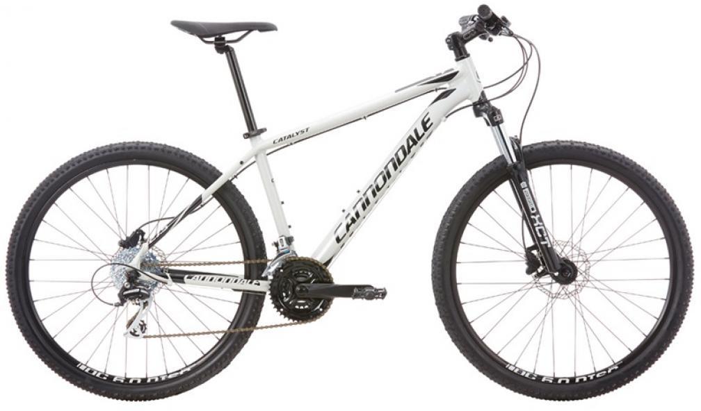 Велосипед горный Cannondale Catalyst 2 2016, цвет: серый, рама 14, колесо 27,5263081