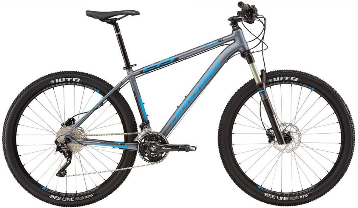 Велосипед горный Cannondale Trail 1 2016, цвет: серый, рама 24, колесо 27,5263094
