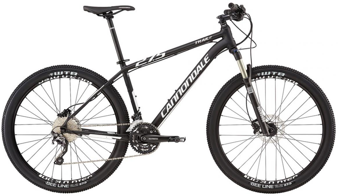 Велосипед горный Cannondale Trail 2 2016, цвет: черный, рама 22, колесо 27,5263106