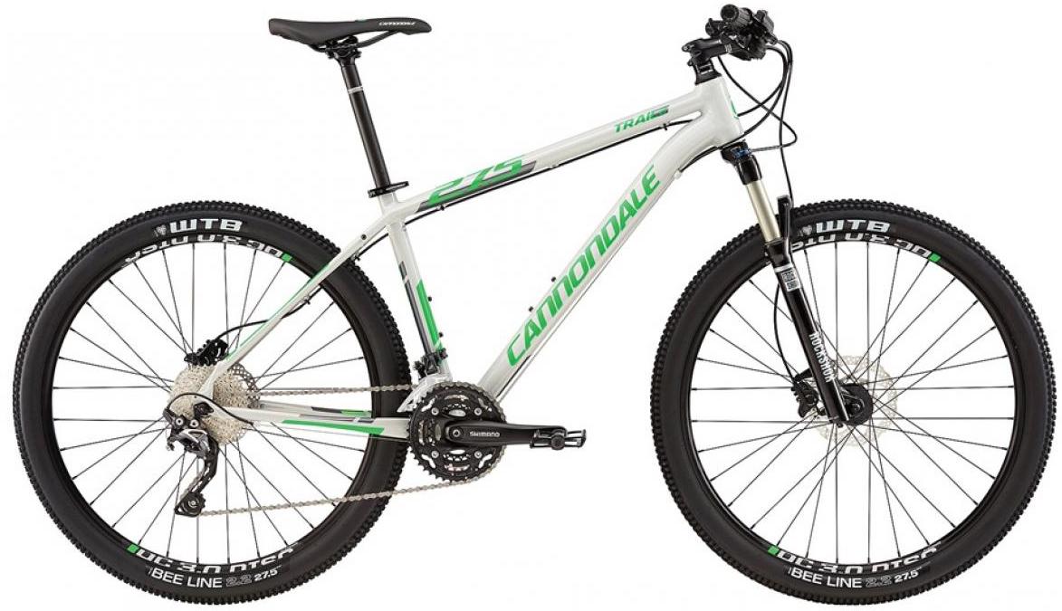 Велосипед горный Cannondale Trail 2 2016, цвет: серый, рама 14, колесо 27,5263111