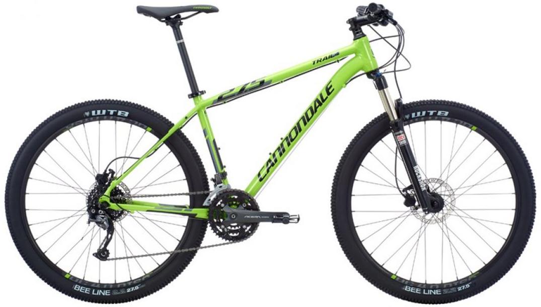 Велосипед горный Cannondale Trail 4 2016, цвет: зеленый, рама 22, колесо 27,5263150