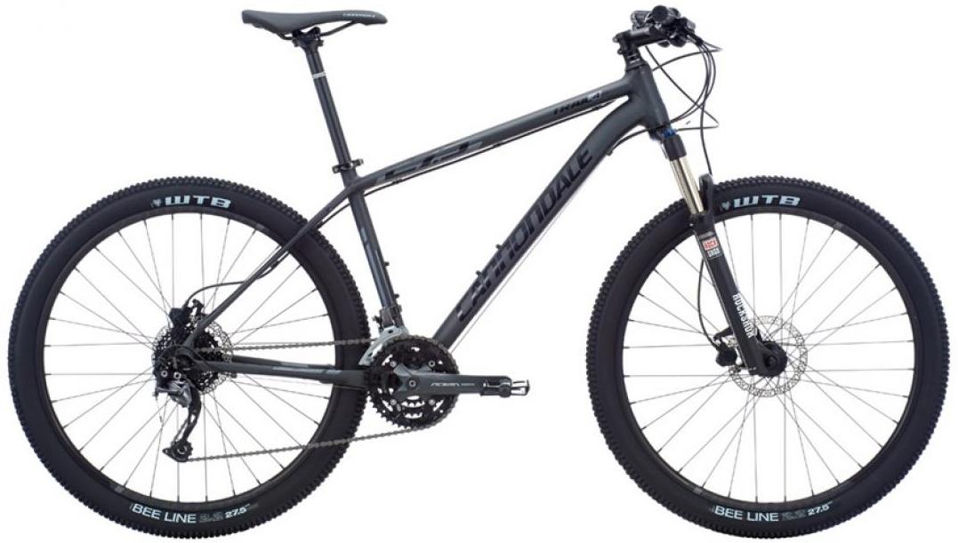 Велосипед горный Cannondale Trail 4 2016, цвет: серый, рама 16, колесо 27,5263158