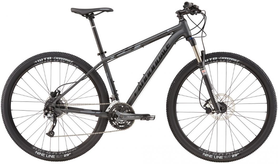 Велосипед горный Cannondale Trail 4 2016, цвет: серый, рама 24, колесо 29263167