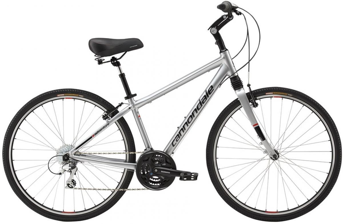 Велосипед городской Cannondale Adventure 1 2016, цвет: серый, рама 22, колесо 28263332