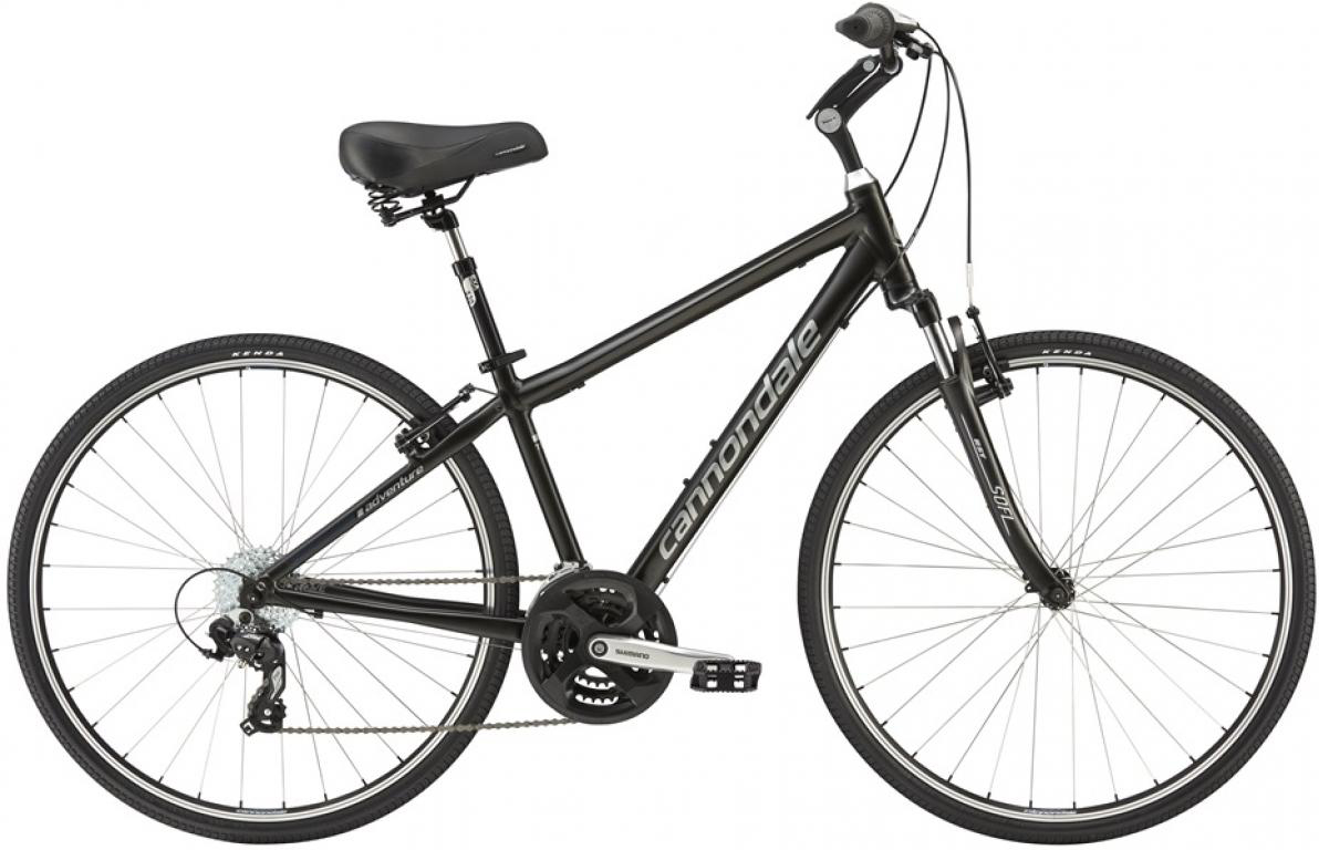 Велосипед городской Cannondale Adventure 2 2016, цвет: черный, рама 20, колесо 28263336