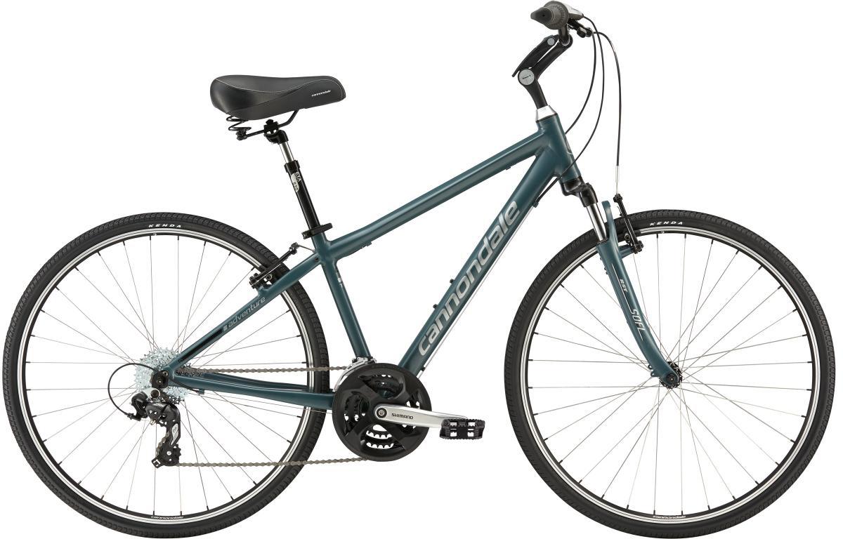 Велосипед городской Cannondale Adventure 2 2016, цвет: синий, рама 18, колесо 28263365