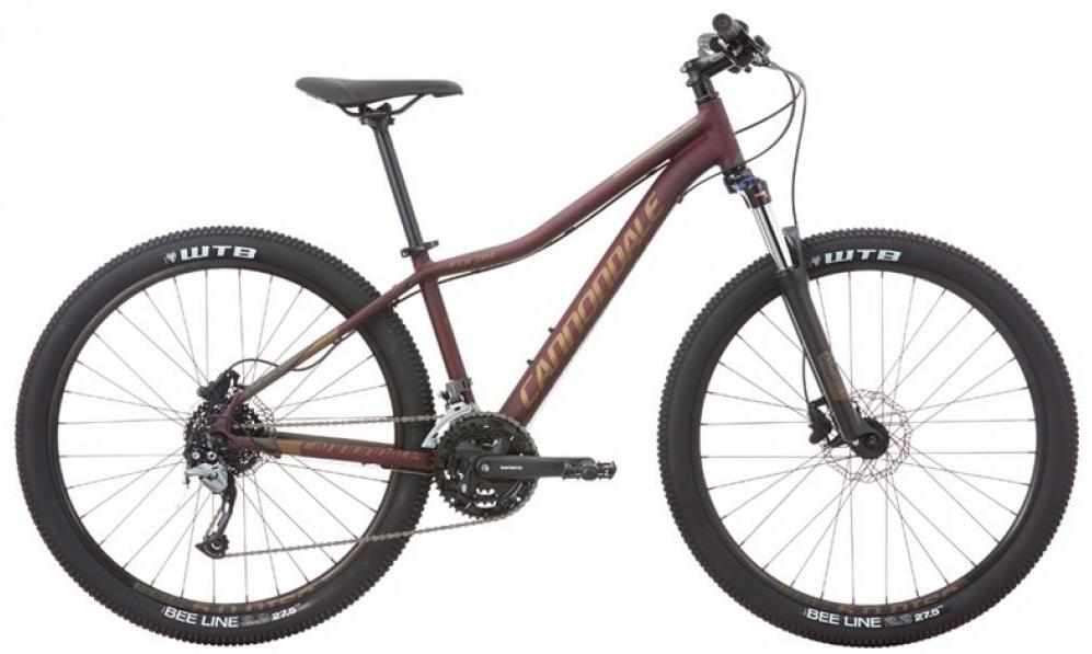 Велосипед женский Cannondale Foray 1 2016, цвет: красный, рама 16, колесо 27,5 велосипед cannondale foray 1 27 5 2016