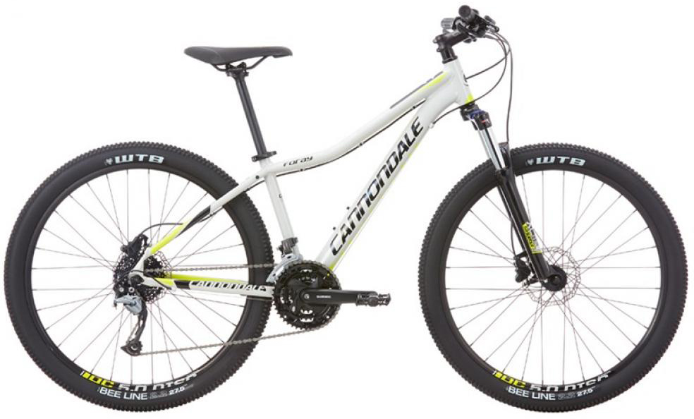 Велосипед женский Cannondale Foray 1 2016, цвет: серый, рама 18, колесо 27,5 велосипед cannondale foray 1 27 5 2016