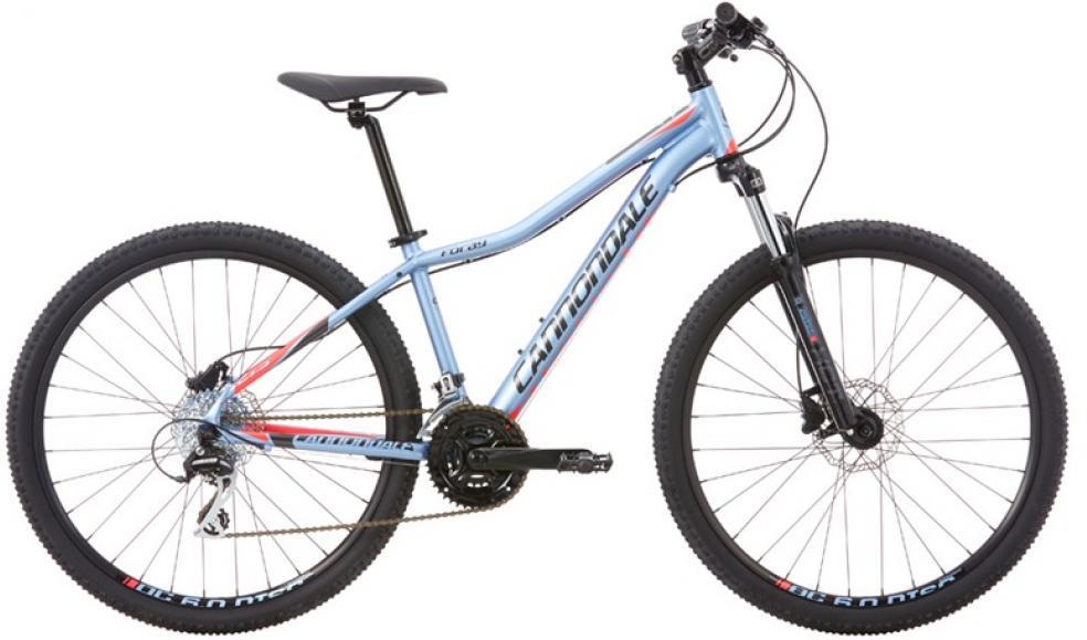 Велосипед женский Cannondale Foray 2 2016, цвет: голубой, рама 20, колесо 27,5263789