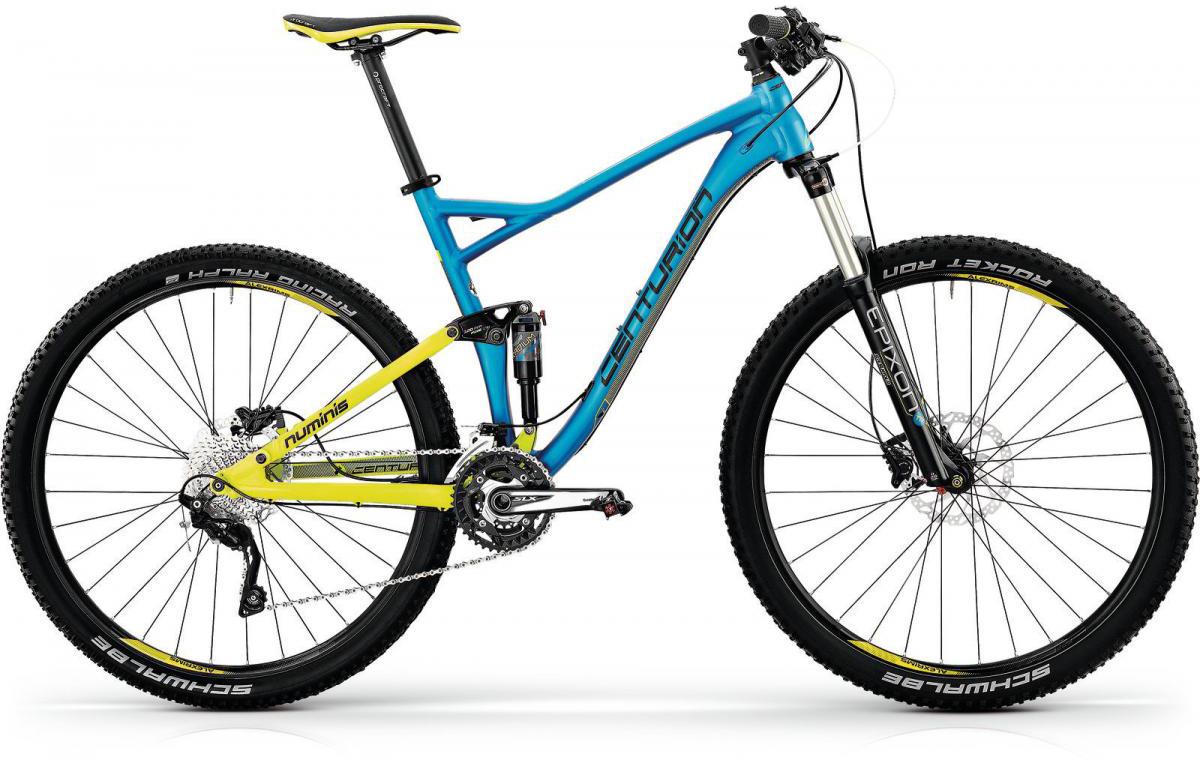 Велосипед горный Centurion Numinis 800 2016, двухподвесный, цвет: синий, рама 21, колесо 27,5263829