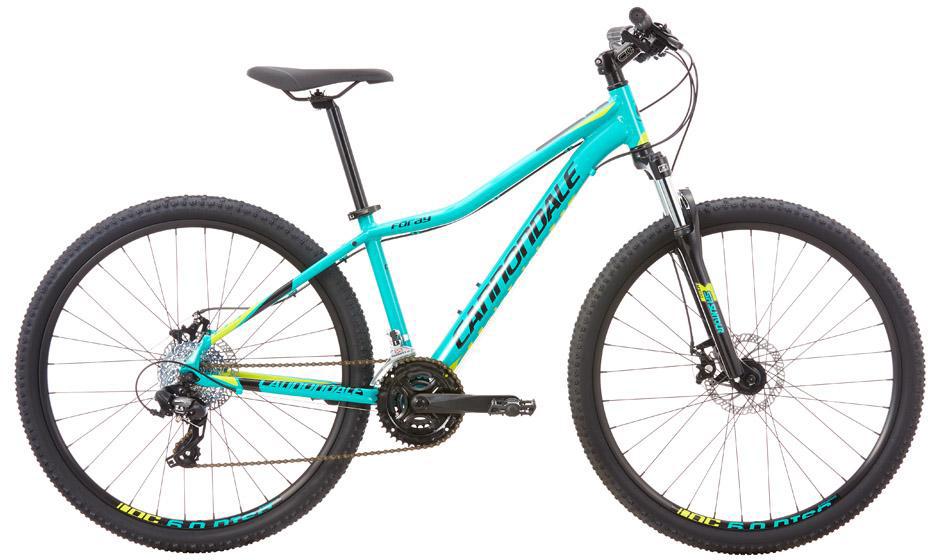 Велосипед женский Cannondale Foray 3 2016, цвет: голубой, рама 14, колесо 27,5263839