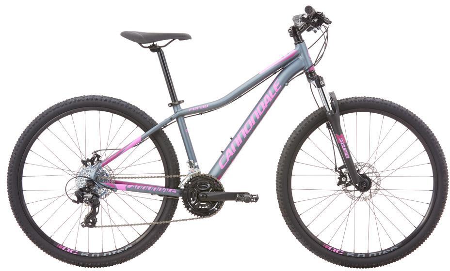 Велосипед женский Cannondale Foray 3 2016, цвет: серый, рама 14, колесо 27,5263840