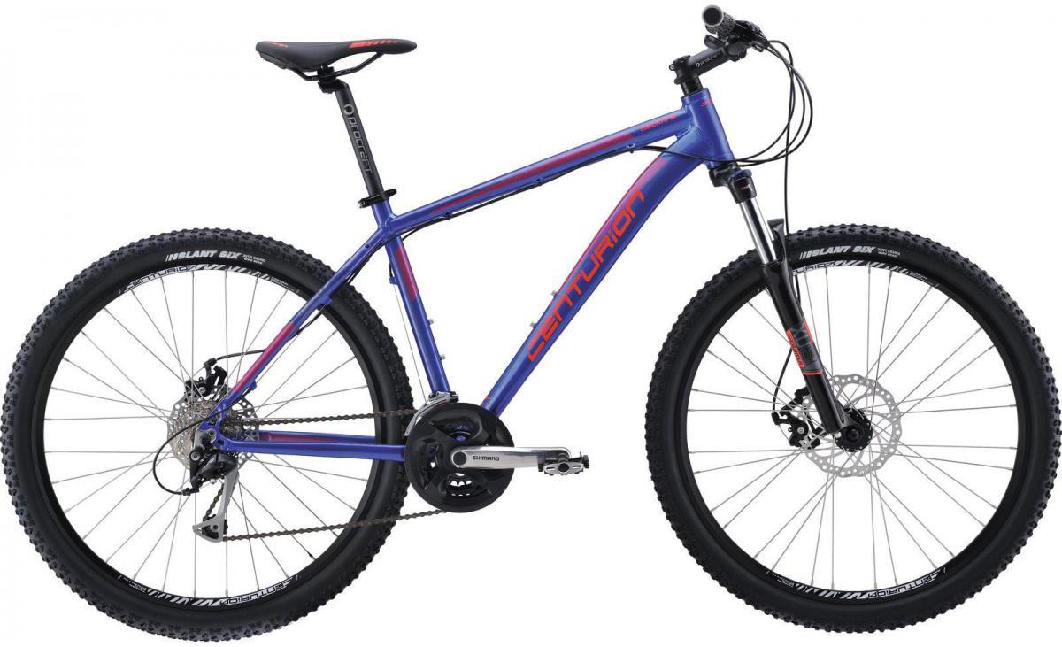 Велосипед горный Centurion Backfire 70 2016, цвет: синий, рама 18, колесо 27,5264041
