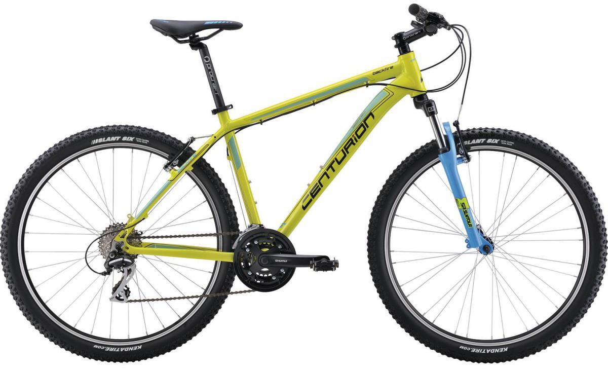 Велосипед горный Centurion Backfire 60 2016, цвет: зеленый, рама 16, колесо 27,5264043